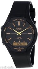 Casio AW90H-9E Mens Classic Digital Analog 50M Casual Watch Dual Time Alarm NEW