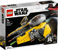 75281 LEGO Star Wars Anakin's Jedi Interceptor Space Ship Set 248 Pieces Age 7+