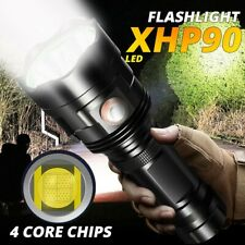 20000lm 3*XHP90 LED Flashlight Torch USB Rechargeable Lamp Ultra Bright Light US