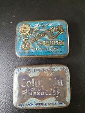 Vintage Gramophone Needle Tins Songster Columbia