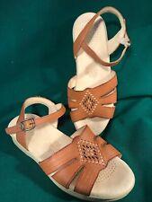 7555bff098b3 SAS 6.5 W Tripad Comfort Huarache Women s Brown Leather Ankle Strap Sandals