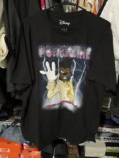 disney goofy world tour t shirt  mens size x-large