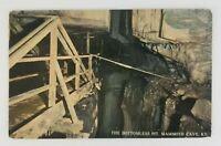 Postcard The Bottomless Pit Mammoth Cave Kentucky
