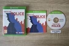 This Is The Police  Xbox One Game -1st Class FREE UK POSTAGE