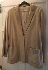 CHARITY AUCTION: Soft Suede Artigiano Jacket Size 16-Cure Myotonic Dystrophy