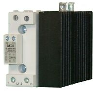 Solid State Relay Contactor 60 A @ 42-600 VAC, Control 20-275 VAC / 24-190 VDC