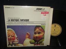 "Sir Georg Solti ""Rossini:Respighi La Boutique Fantasque"" LP  in SHRINK"