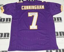 Randall Cunningham Signed Vikings Football Jersey BAS Beckett COA MVP Autograph