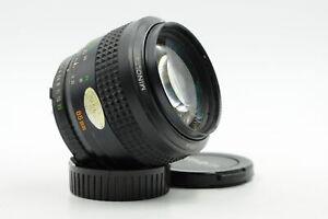 Minolta MD 85mm f1.7 Rokkor-X Lens 85/1.7 #715