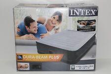 Intex Luftbett Comfort Plush Elevated Airbed Kit inklusive eingebauter Luftpumpe