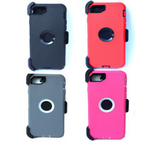 Heavy Duty Hybrid Shockproof Case Cover+Screen Protector for iPhone SE 2020 7 8
