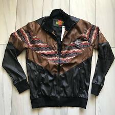 Gucci Sweater Rare Zip Men's  Leather Sweatshirt Crewneck Italy Vintage  XL