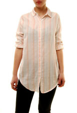 Sundry Women's Authentic Striped Button Down Shirt White Size US1 RRP £121 BCF72