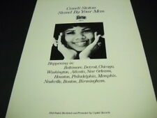 CANDI STATON Stand By Your Man FAME 1472 original 1970 PROMO DISPLAY AD mint con