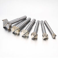 12mm-45mm Alloy Forstner Drill Bits Hinge Hole Drilling Wood Drill Bits Woodwork
