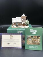 "Retired Lilliput Lane ""All Saints Watermillock"" W/box & Deed"