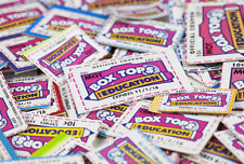 50 Box Tops for Education - Pre Trimmed None Expired BTFE Boxtops