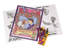 Wedding Activity Book and Crayons - Fun Wedding Activity for Children