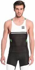 Santini 365 Men's Triathlon Tank Top - in Green - Made in Italy