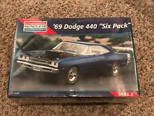 Monogram 1969 Dodge 440 Six Pack Super Bee Coronet 1/24 Model Car Kit New Sealed