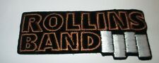 HENRY ROLLINS COLLECTABLE RARE VINTAGE PATCH EMBROIDED 90'S METAL BLACK FLAG