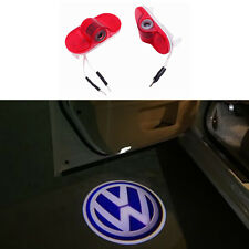 Logo Door Projector Emblem Light For VW Golf 4 Caddy Touran Bora Beatles Lavida