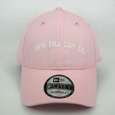 New Era Men's Vintage New Era Cap Co. Basic Pink 940 Adjustable Cap - One Size