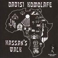 Dadisi Komolahe – Hassan's Walk  Vinyl lp reissue remastered 180gram