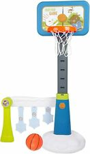 Vilobos 2 in 1 Kids Adjustable Basketball Hoop Toddler Soccer Toy Football Play