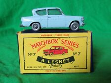 Matchbox Lesney 7 Ford Anglia 105E original & boxed