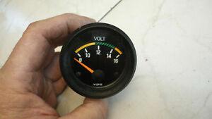 Porsche 924 Voltmeter 477919531 Zusatz instrument Batterieanzeige