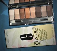 Clinique all about shadow 8-pan palette *wear everywhere nudes* Full Size NIB