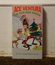 Ace Ventura The Rein-Deer Hunter Rare & OOP Cartoon Warner Bros Home Video VHS