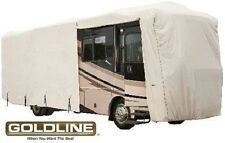 Goldline Class A RV Trailer Cover Fits 44 to 46 foot Grey