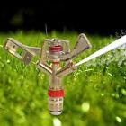 "New 1/2"" Garden Lawn Grass Full Circle Water Impact Sprinkler Irrigation Head"