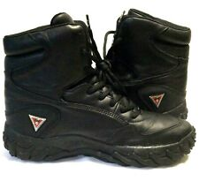 RARE OAKLEY SI BLACK LEATHER BOOTS Size 11 Elite Special Forces Tactical Shoes