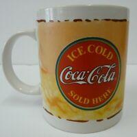 Coca-Cola Coke Coffee Mug Cup Gibson 2003 Ice Cold Coca-Cola Sold Here