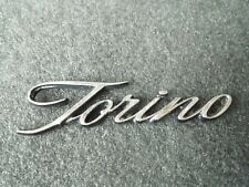 Hood Emblem Script 1970 1971 Ford Torino Cobra GT Brougham Ornament/Badge 70 71