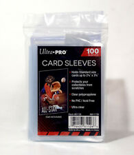 NEW Ultra Pro 100 Count Clear Poly Penny Trading Card Sleeves Sports MTG 81126