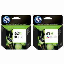 Genuine HP 62XL Black (C2P05AE) & Colour (C2P07AE) ink cartridges VAT included