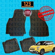 KA8431 TAPPETINI PER AUTOMOBILE IN GOMMA NUOVA FIAT 500 COD