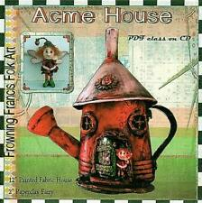 """*NEW* """"ACME HOUSE"""" PDF CLASS TUTORIAL ON CD BY SUSAN BARMORE"""