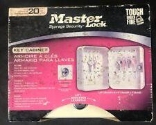 Master Lock 20 Key Storage Cabinet  Box Wall Mount Sealed