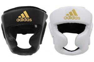Adidas Speed Full Face Boxing Head Guard MMA Chin Cheek HeadGuard head Protector