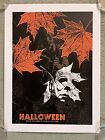 John Carpenter Michael Myers Halloween Horror Print Movie Poster Mondo Qfschris