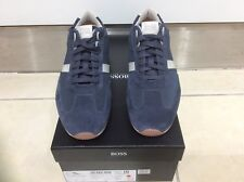d0e80596789 Hugo Boss Men s Trainers Orland Lowp 50389459 Dark Blue Laceup UK 7 EU 41
