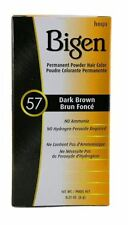 Bigen Permanent Powder Hair Color 57 Dark Brown 1 ea