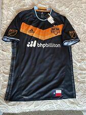 🔥 throwback authentic Houston Dynamo Adidas MLS jersy sz large