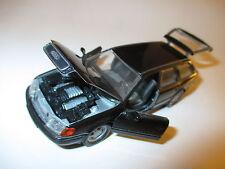 Audi 100 C4 Avant Kombi break in schwarz negro noir nero black, Schabak in 1:43!