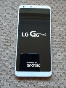 LG G6 H870DS 64GB 4GB RAM Dual Sim Mobile Smartphone Mystic White Unlocked